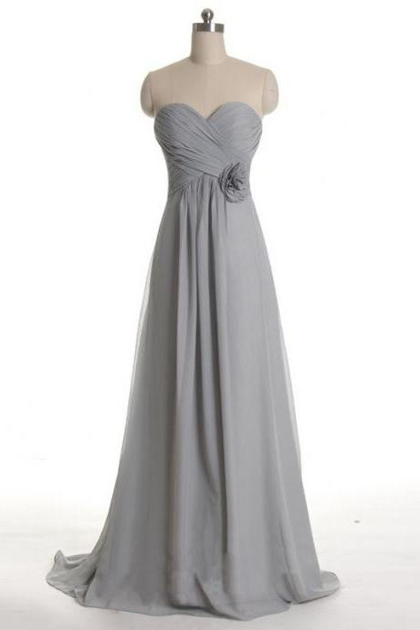Grey Bridesmaid Dresses, simple Bridesmaid Dresses, long Bridesmaid Dresses, cheap Bridesmaid Dresses, CM5101