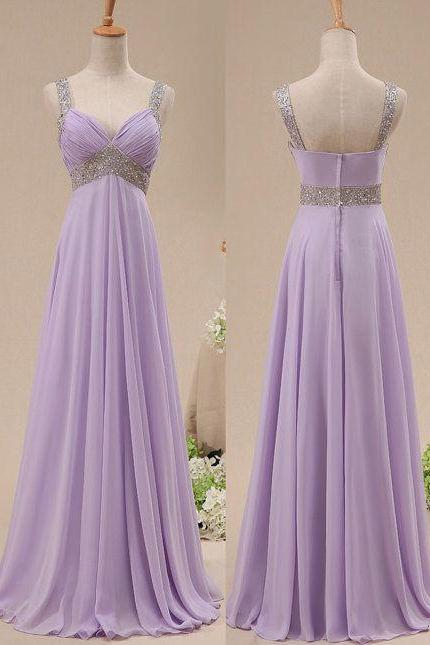 Lilac prom dress, long prom dress, custom bridesmaid dress, on sale prom dress, simple prom dress, off shoulder prom dress, bridesmaid dress, BD285