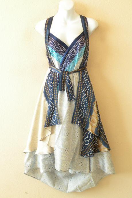 M485 Vintage Silk Magic 30' Length Long Wrap Skirt Halter Tube Maxi Dress + DVD