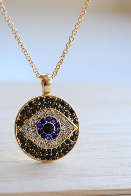 Evil eye necklace, eye necklace, turkey necklace,turkey evil eye necklace,turkey evil eye