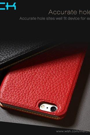 Brand ROCK Luxury iPhone 6 iPhone 6 Plus Leather Case,Coque iPhone 6