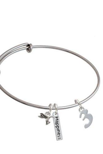 Number - Expandable Bangle Bracelet| Number| 3