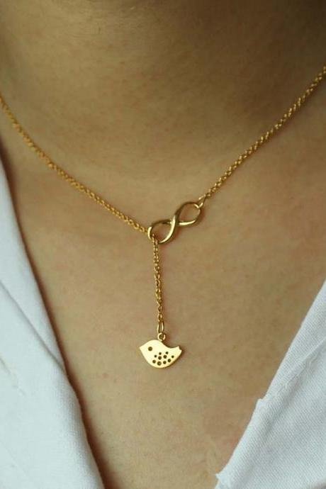 Gold Plated Necklace, Unique Necklace, Gifts For Her, Birthday Gifts