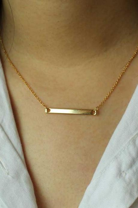 14K Gold Necklace, Vintage Necklace, Gifts For Her, Birthday Gifts