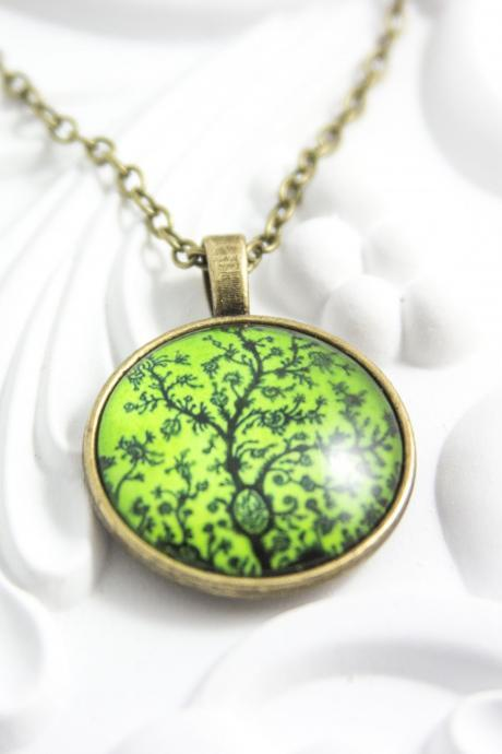 colorful pendant necklace nature jewelry glass pendant picture pendant colorful pendant