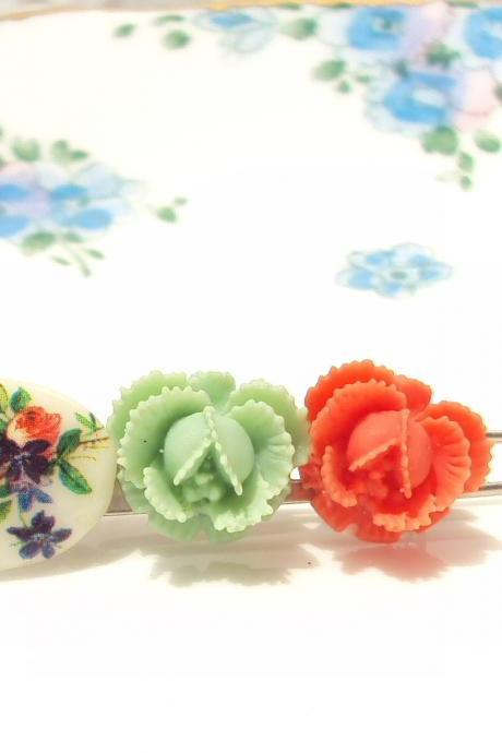 Garden Of Love - Flower Barrette