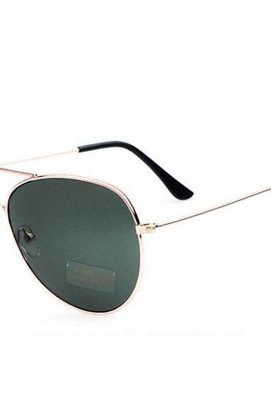 Pilot Beach Party Green Glass Sunglasses