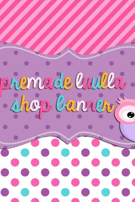 Littl Hootie Luulla Shop Banner Set