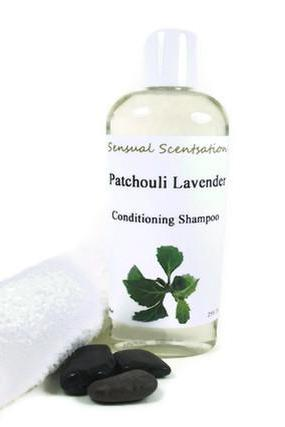 Patchouli Lavender Conditioning Shampoo Essential Oils