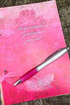 Bengalrose Inspirational Guidance Journal and pen