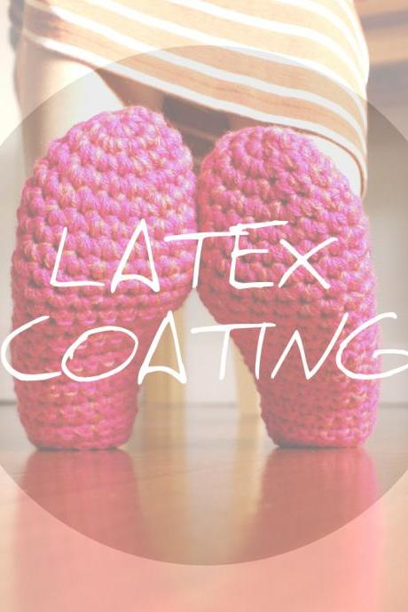 Non Slip Latex Coating for WhiteNoiseMaker slippers