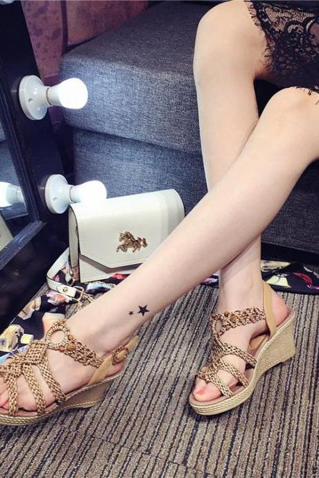 2015 New Fashion Summer Roman Sandals