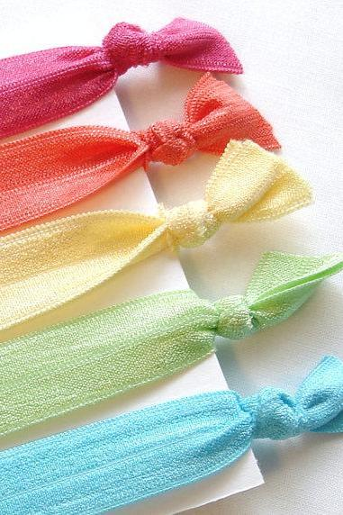 Colorful Hair Ties