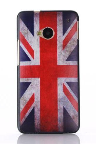 *Free Shipping* Fashion Case For HTC ONE M7 801E Cover Natural Fashion Skin Custom Painted Colorful Paintbox High Quality Protective Phone Cases