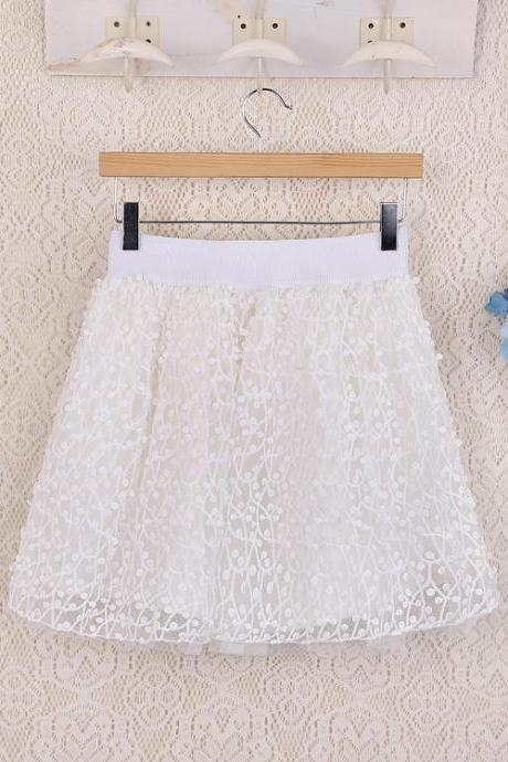 High Quality White Skirts, Women Skirts, Sweet Skirts, Women Skirts