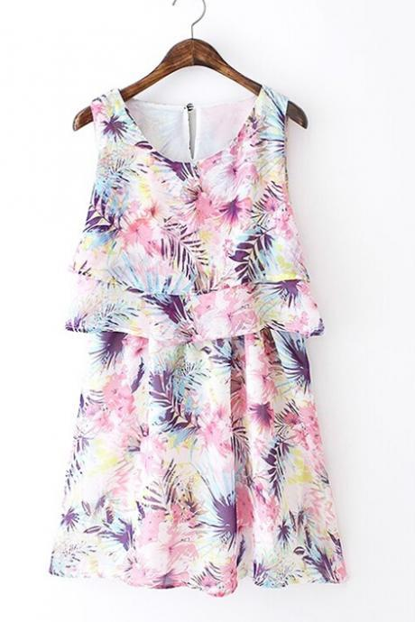 New Arrival Printing Summer Dress,Fashion Dress ,TB-012