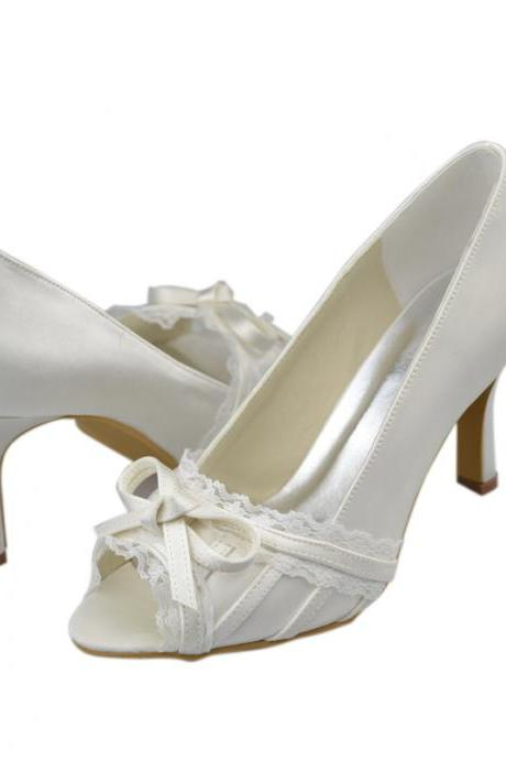 New Design High Heels Fashion Shoes with Lace,wedding shoes