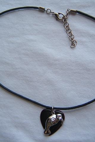 Sea Life Sea Lion Necklace, Summer Necklace, #80130-1