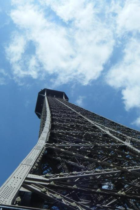 Limited Edition A4 Print: Eiffel Tower Upwards