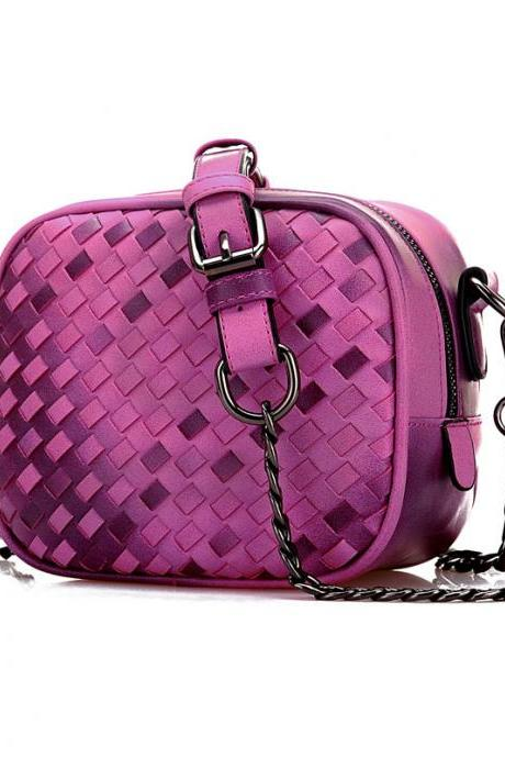 Chain Woven Square Shoulder bags