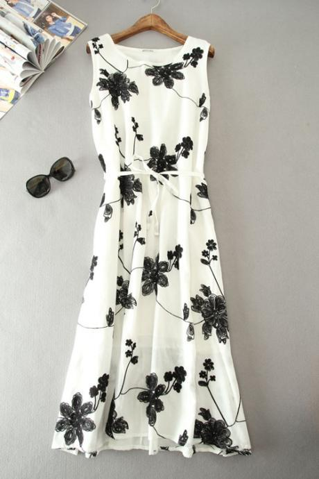 Newest Charming Long Summer woman Dress,Summer Clothing,Fashion Dress ,TB-21