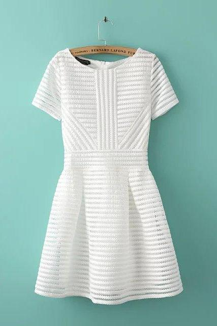 New Arrival White and Black Charming Summer woman Dress,Summer Clothing,Fashion Dress ,TB-22