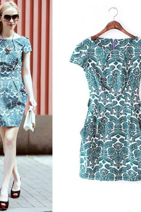 New Arrival Sheath Charming Summer woman Dress,Summer Clothing,Fashion Dress ,TB-24