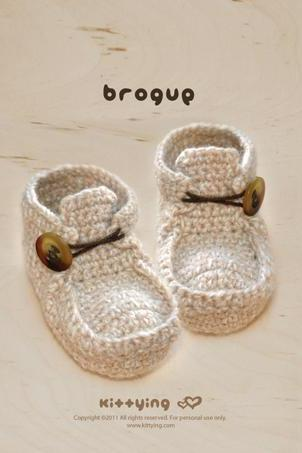 CROCHET PATTERN Khaki Brogue, SYMBOL DIAGRAM (pdf)