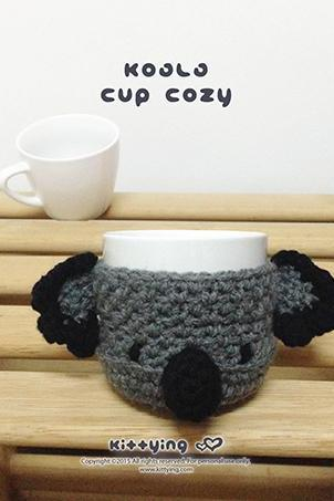 Crochet Pattern Cup sleeve Mug cover Cup warmer Mug holder Apple cozy Mug cozy Cup cozy Mug sleeve Fruit cozy Apple protector