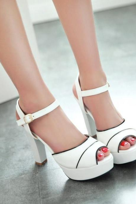2015 Fashion summer Platform Heel Sandals