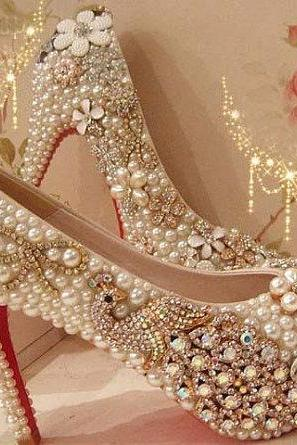 Wedding shoes | Bridal shoes, wedding pumps | Luulla