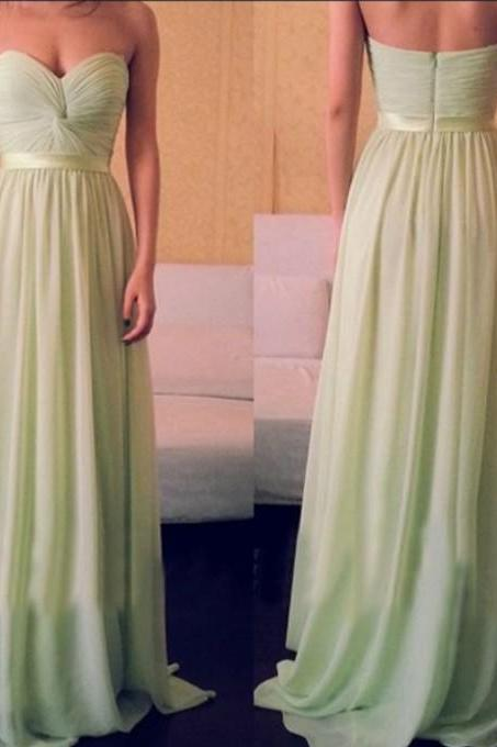 Bd07013 Charming Bridesmaid Dress,Sweetheart Bridesmaid Dress,Chiffon Bridesmaid,Brief Pleat Prom Dress
