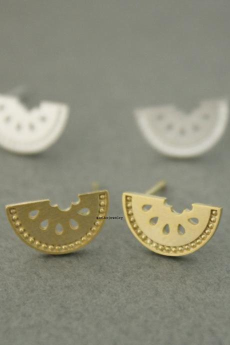 Cute Watermelon stud Earrings in 2 colors, E0620G