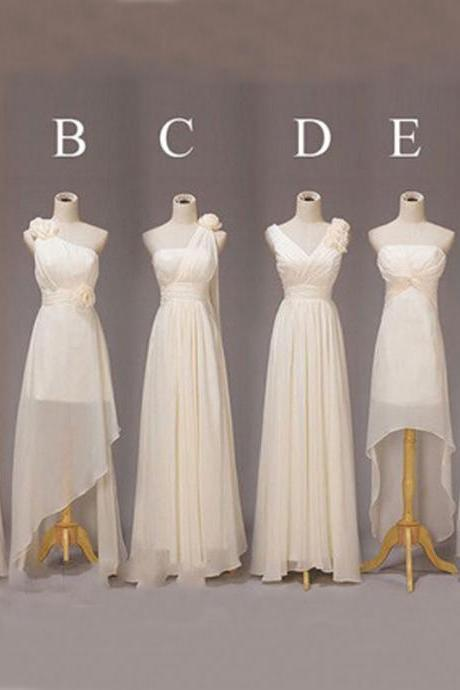 Champagne Bridesmaid Dresses, Long Bridesmaid Dresses, Cheap Bridesmaid Dresses, Mismatched Bridesmaid Dresses, Simple Bridesmaid Dress, Bridesmaid Dresses 2016, Bridesmaid Dress