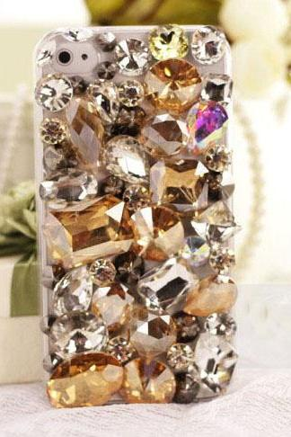6s plus 6c Luxury Muticolored Rhinestone Hard Back Mobile phone Case Cover sparkly Case Cover for iPhone 4 4s 5 7 5s 6 6 plus Samsung galaxy s7 s4 s5 s6 note8.0 4