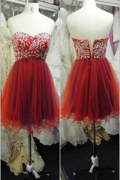 Lovely Prom Dress, Homecoming Dress, Cocktail Dress
