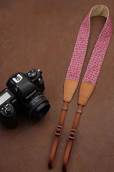 High Quality Red comfortable camera strap Neck Strap elastic carrying a classic for canon nikon sony