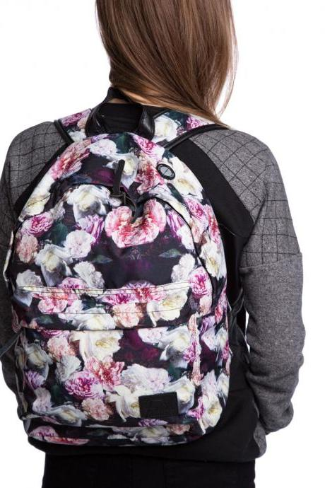 Fusion ROSES Printed Backpack