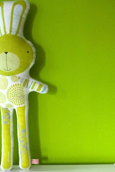 printed soft toy - Simao the rabbit