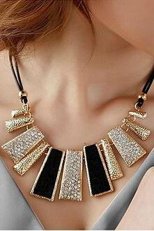 New-Fashion-Pendant-Crystal-Choker-Chunky-Charm-Chain-Statement-Bib-Necklace