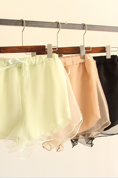 Organza Double Shorts
