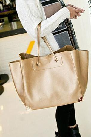 High Quality Gold Metal Decorated Classical Brand Womens Bag