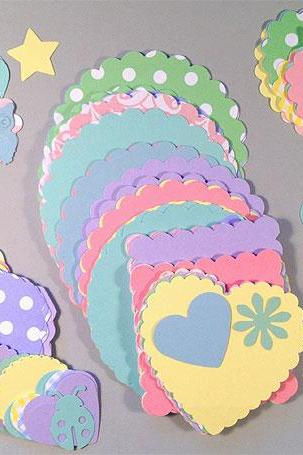 Baby Themed Paper Pack 400 Pieces