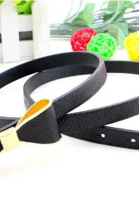 Leisure butterfly knot belt