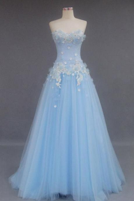 Romantic Tulle Prom Dress, Party Dress, Evening Dress