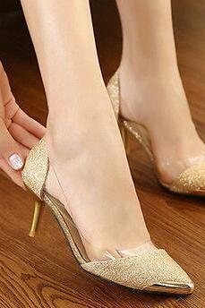 Womens Fashion Pointy Toe Stiletto High Heel Pumps Court Party Evening Shoes New