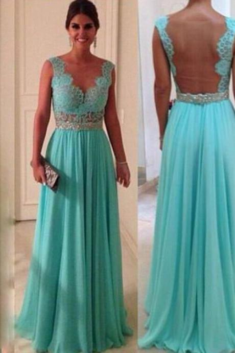 Elelgant Chiffon Prom Dress, Party Dress, Evening Dress