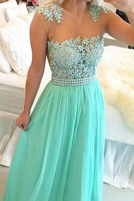Simple bu Sexy Prom Dress. Party Dress