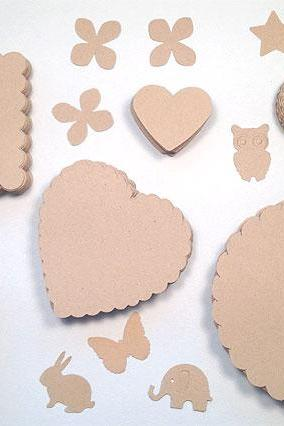 400 Kraft Paper Pack for Card Making