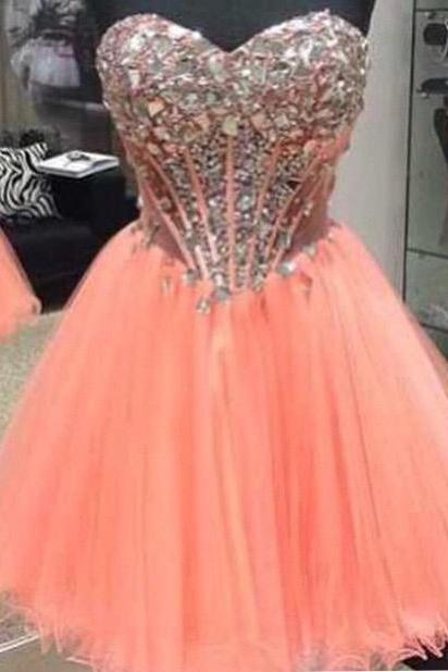 Lovely Tulle Cocktail Dress. Prom Dress, party dress